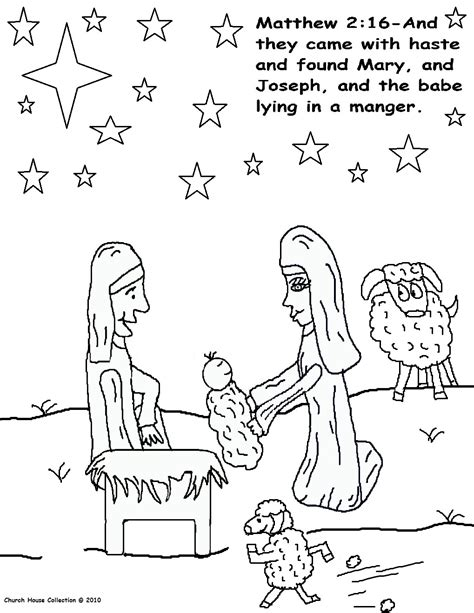 coloring page birth of jesus free jesus christ born coloring pages