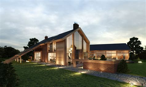 House Plans With Courtyard Contemporary Farm House Barn Houses