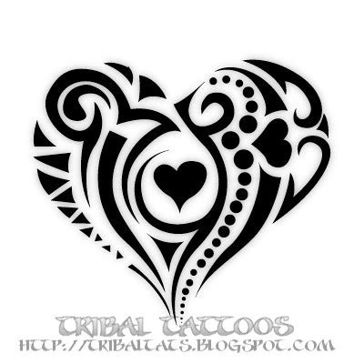 tribal tattoos hearts 7 unique designs of tribal tattoos gallery