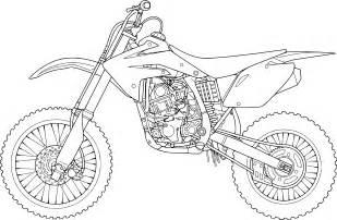 coloriage moto cross 224 imprimer sur coloriages info sketch template