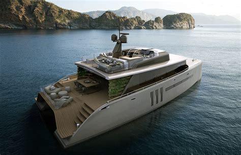 catamaran design boat 21m catamaran yacht picchio boat designed by christian