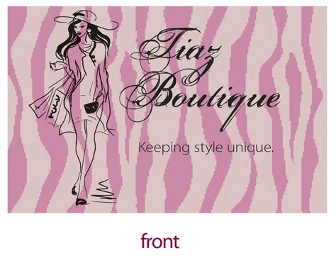 Boutique Business Cards