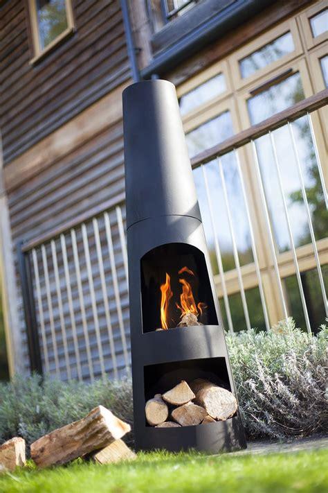 chimenea logs steel chimenea with log store savvysurf co uk