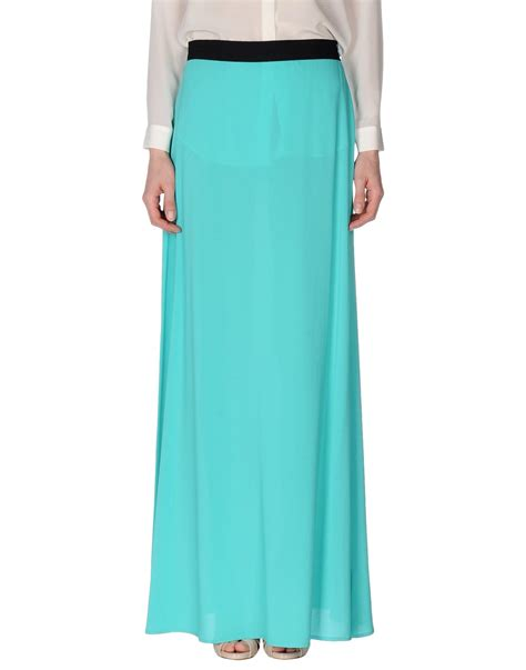 maesta skirt in blue turquoise save 54 lyst