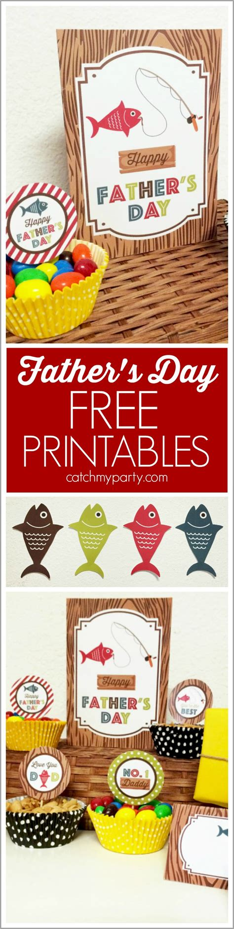 free food for fathers day i fishing s day free printables catch my