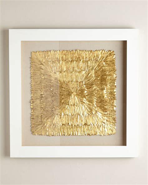 golden home decor golden feather spaturral wall decor