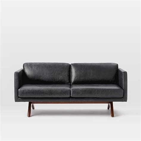 brooklyn sofa brooklyn leather sofa west elm