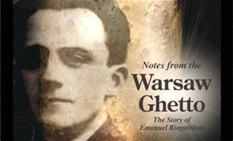 notes   warsaw ghetto  story  emanuel