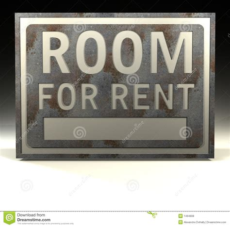 room rent info sign room for rent royalty free stock photos image 1494808