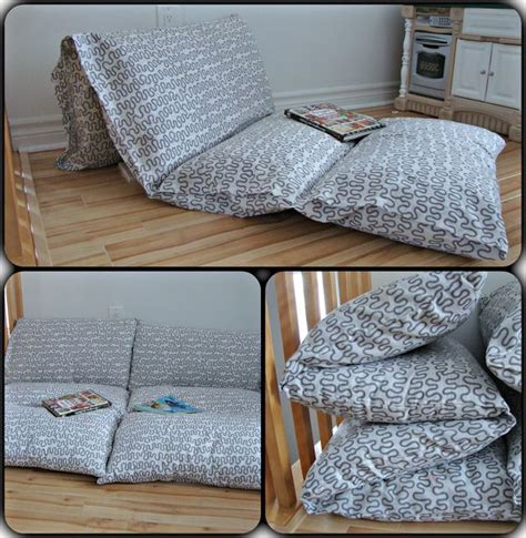 Diy Futon Bed by 25 Best Ideas About Pillow Mattress On