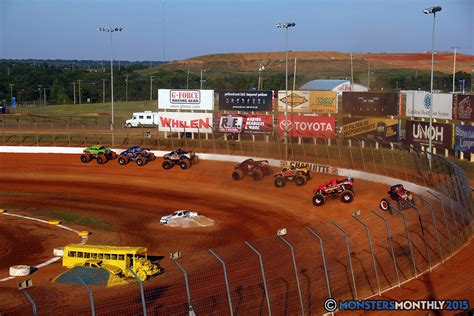 monster truck races 2015 circle k back to bash monsters monthly