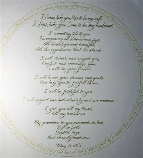 Wedding Vows by Writing Your Own Wedding Vows Wedding Dress 2012