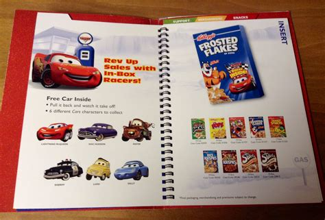 books about cars and how they work 2005 lexus is auto manual sle pages from the 40 page kellogg s disney pixar cars preview product selling book from 2005