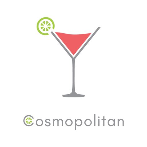 Cocktail Logos Jared Lichtenstaedter