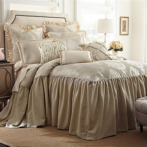 full size bed coverlets austin horn classics jacqueline bedspread in cream bed