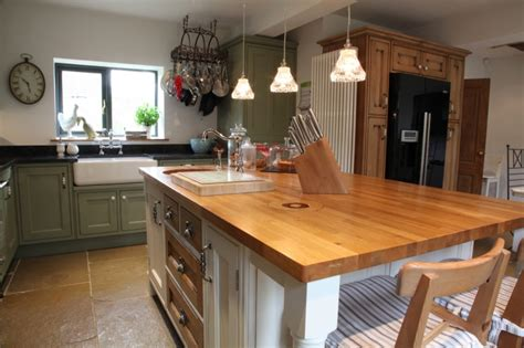 Open Kitchen Living Room Design Ideas Hand Crafted Barn Conversion Derbyshire Bespoke Kitchens