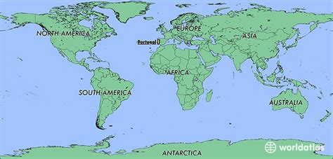 where is portugal located on the world map where is portugal where is portugal located in the