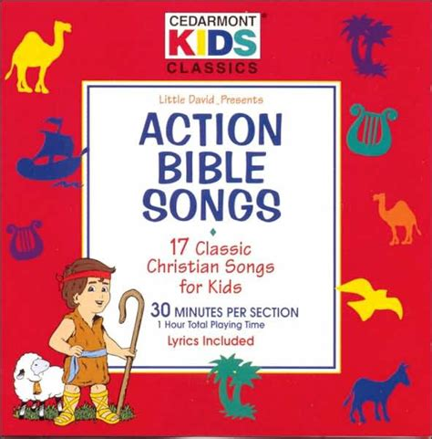 nutana christmas action songs bible songs by cedarmont 84418221721 cd barnes noble 174