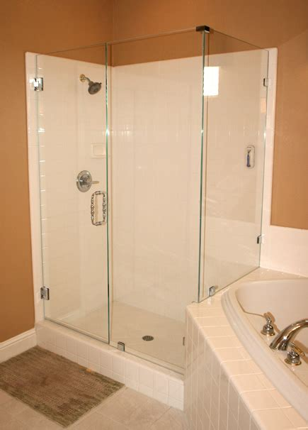 Installation Of Shower Doors Mission Glass Shower Doors Custom Shower Doors Precision Glass