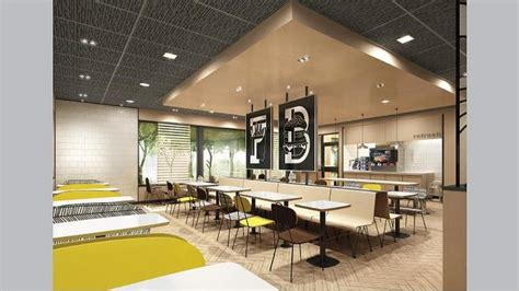 mcdonald s has a new store design and it will debut in