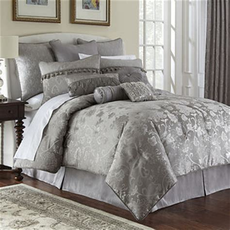 marquis by waterford 174 samantha platinum 4 pc comforter