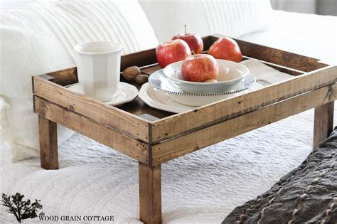 bed trays breakfast in bed tray the wood grain cottage