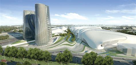 Square Kitchen Design zaha hadid architects win cairo expo city competition