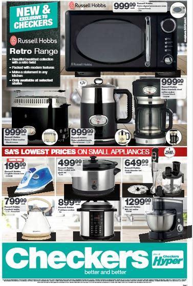 kzn checkers small appliances deals  jul   aug