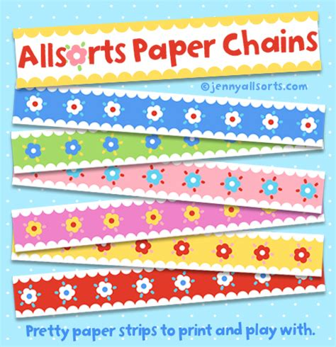How To Make Chains Out Of Paper - allsorts ideas and inspiration