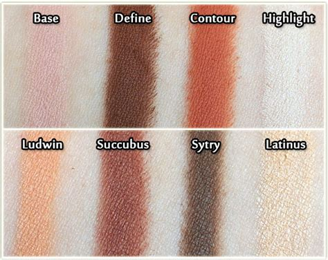 kvd shade and light eye d shade light in rust review swatches