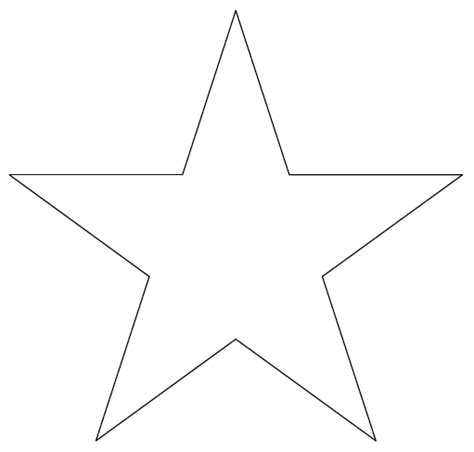 pattern for drawing a star how to draw a star