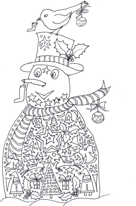 Coloring Pages Christmas Detailed | free coloring pages of detailed eagle