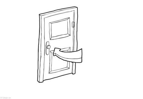 porta da colorare disegno da colorare porta chiusa risparmio energetico