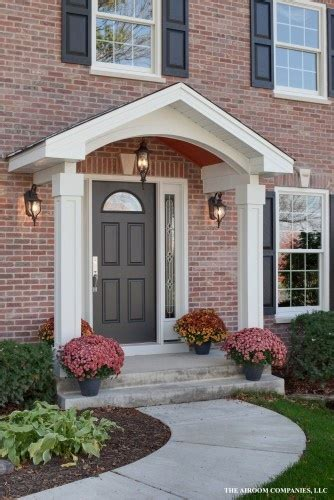 Front Door Stoop How To Add Curb Appeal With A Portico Four Generations One Roof