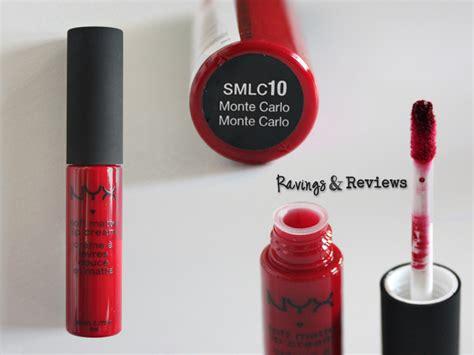 Lipstik Nyx Monte Carlo review swatch nyx soft matte lip ravings reviews