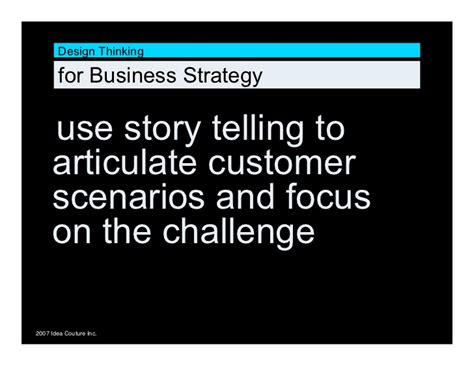 Legend Of Business Strategies Vol 2 design thinking for business strategy