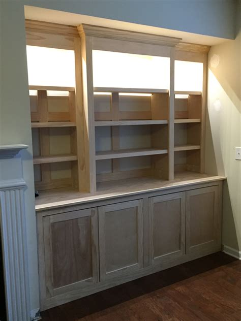 white built in bookcase white built in bookcase with lights diy projects