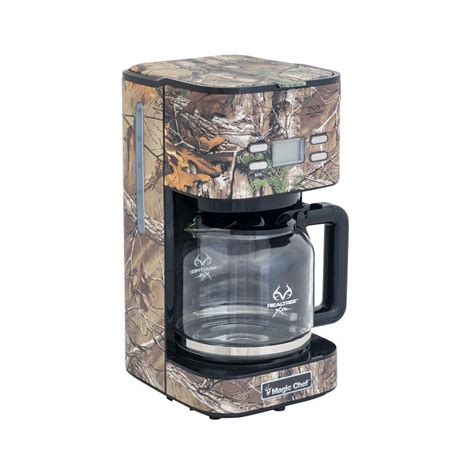 home depot real tree magic chef 12 cup realtree xtra camouflage coffee maker mcl12cmrt the home depot
