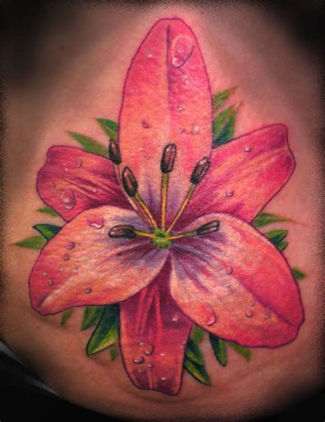 lily flower tattoo tattoos and designs page 35