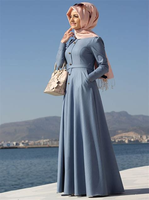 simple plain flare abaya make sophisticated look style
