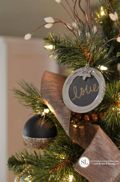 pictures of black and gold christmas tree 2014 tree challenge make it merry tree michaelsmakers bystephanielynn