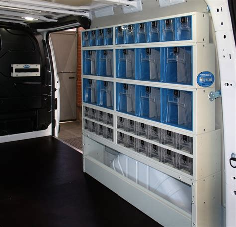 Custom Racking by Interior Upfit For The Ford Custom L2 H1