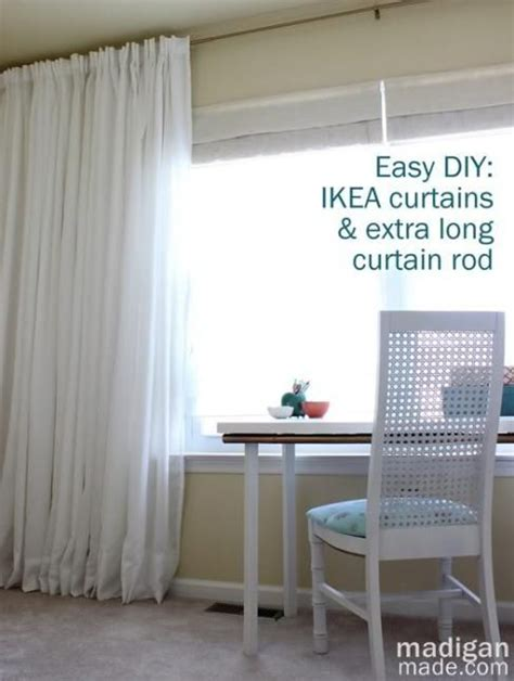 long curtain rod without center support long curtain rods mprnac com
