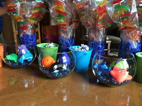 centerpieces for the sea baby shower the sea
