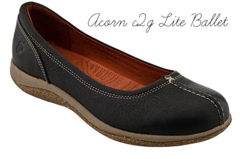 flat shoes for plantar fasciitis 2 acorn c2g lite ballet c2g stands for comfort to go and
