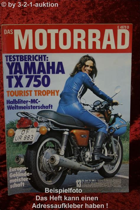 Husqvarna Motorrad Ebay by Das Motorrad 13 74 Yamaha Tx 750 Husqvarna Suzuki Ebay