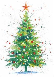 25 best ideas about watercolor christmas cards on
