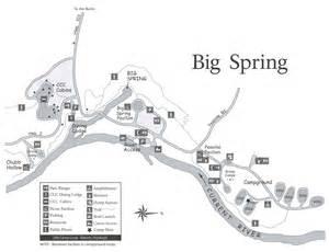 big springs map cing ozark national scenic riverways u s national