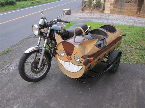 Motorrad Seitenwagen by Neko Cat Motorcycle Sidecar Mousebreath Magazine