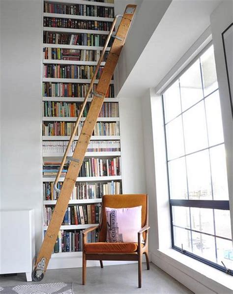 best fresh library ladder contemporary 7906 modern library ladders www nicespace me